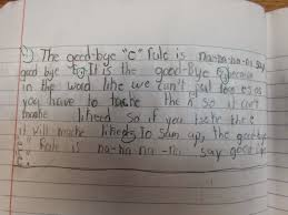 wbt in miss ray s second grade during phonics i taught students what we refer to in our classroom as the good bye e rule it is our term for the e drop rule at the end of the week