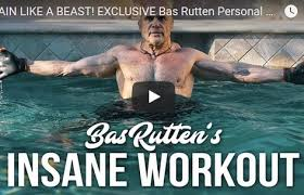 train like a beast with this mma workout in a pool the bas rutten