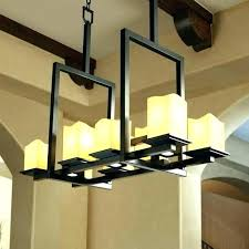 faux candle chandelier vanity in pillar rectangular and restoration home furniture