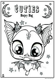 Small Picture Cuties littlest petshop coloring pages free online 4