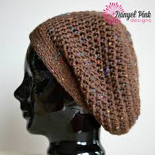 Slouch Hat Crochet Pattern Delectable Ravelry Super Slouch Hat Pattern By Danyel Pink