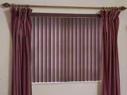 horizontal blinds with curtains. Modren Curtains Curtain Design Curtains With Blinds Of Purple Fabrics As Well Added  Iron Rods Intended Horizontal B