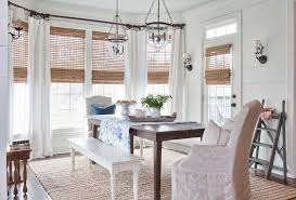 image of sisal rug under dining table