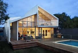 Home Interiors:Elegant House With Glass House Extension Design Ideas  Elegant House With Glass House