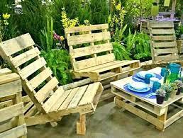 wooden pallet garden furniture. Simple Wooden Wooden Pallet Garden Table Wood Outdoor Furniture Ideas  Diy  Throughout