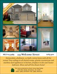 realtor open house flyers open house designs real estate flyers booklets postcards and
