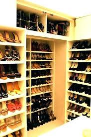 shoe closet diy shelf