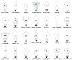 Light Bulb Shape And Size Chart Pdf Bedowntowndaytona Com