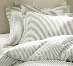 decor look alikes vintage ticking stripe duvet