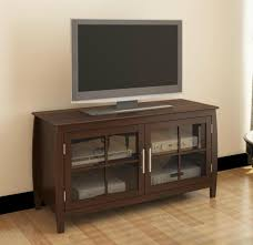 Living Room Cabinets With Glass Doors 48 Inch Two Mullion Glass Doors Modern Tv Cabinet Av Cabinet Wd