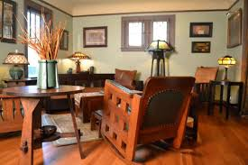 mission style living room with ragsdale arts and crafts ls