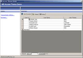downloading microsoft office 2003 for free changing themes in microsoft access 2003 database