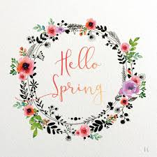 Hello Spring By F Li Cie Bullet Journal Pinterest Tableau