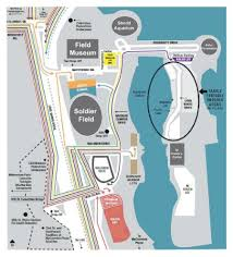 Soldier Field Chart Soldier Field Stadium Parking Lot Tickets And Soldier Field