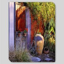 geranium red canvas art