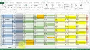 Excel Kalender Tutorial Excel Kalender Jahresübersicht Youtube