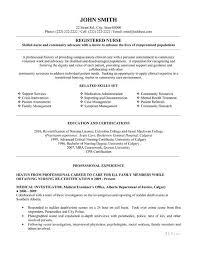 Resume Examples. New Grad Free Rn Resume Template Nursing