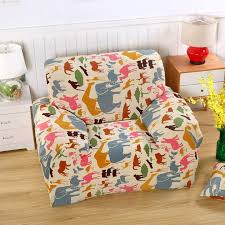 animal print furniture covers. 25-46usd cartoon animals print stretch sofa cover for 4 seasons,100% polyester animal furniture covers