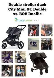 Double Stroller Smackdown City Mini Gt Double Vs Bob