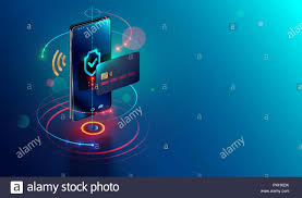 E Payment System Design Isometric Mobile Phone And Internet Banking Online Payment