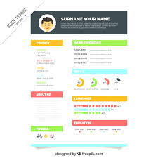 Graphic Resumes Templates Professional Free Graphic Design Resume Template Download 54