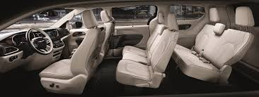 2018 chrysler pacifica interior review
