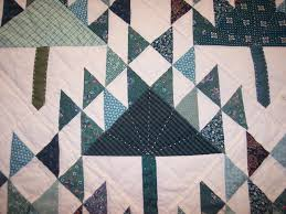 The Quilt Ladies Book Collection: Pine Tree Quilt Hand Quilted & pine tree quilt pattern done as a baby quilt Adamdwight.com