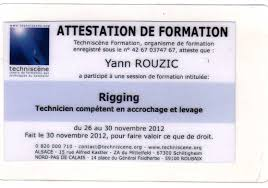 Yann Rouzic Cv In English