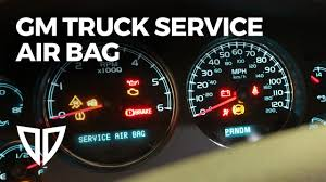 2004 Chevy Avalanche Service Airbag Light Is On How To Replace An Airbag Front Impact Sensor On A Gm Chevrolet Pickup Truck Or Suv