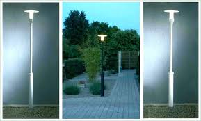 solar post lamp outdoor lamps lights awesome or canada