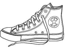 converse shoes black and white clipart. pin converse clipart untied shoe #4 shoes black and white i