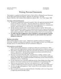 grad school essays sle personal statements graduate school how to write a personal