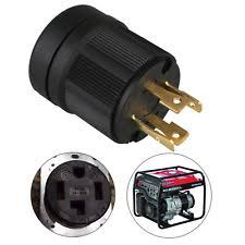electrical plugs outlets covers 125v 250v 4 wire twist lock electric male plug connector nema l14 30p 30a