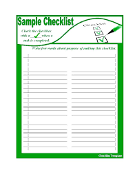 Free Printable To Do List Checklist Templates Excel Word Form