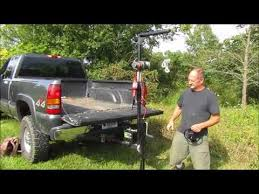 Pickup Truck Crane, receiver hitch hoist demonstration with ...