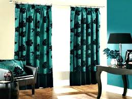 Teal Patterned Curtains Beauteous Teal Velvet Curtains Light Teal Curtains Teal Sheer Curtains Large