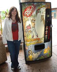 Dr Pepper Vending Machines Fascinating Dr Pepper Vending Machine Art Contest Theadanews