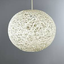 woven ball easy fit pendant shade lamp for woven lamps