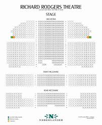 Richard Rodgers Theatre Broadway Seating Charts High Quality