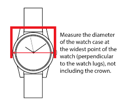 Watch Diameter Chart Watch Sizing Guide Find Your Right Watch Size Esslinger