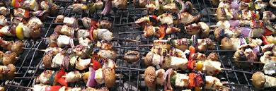 burgers bbq outdoor catering