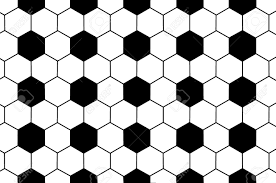 Soccer Ball Pattern Gorgeous Background Of Black And White Soccer Ball Pattern Stock Photo