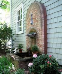 outdoor garden fountain. Outdoor Garden Wall Fountain Pictures U