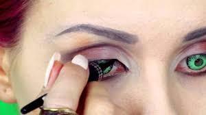 maleficent angelina jolie makeup tutorial by anastasiya shpagina