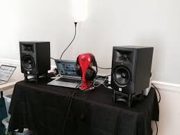 jbl 705i. here was my setup with the lsr305\u0027s. jbl 705i e