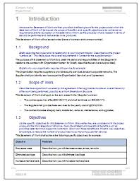 It Sow Template Statement Of Work Template Ms Word Excel Templates Forms