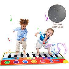 Light It Up Electronic Dance Mat Jenilily Musical Dance Mat Piano Keyboard Anti Skid Electronic Keyboard Instrumental Floor Interactive Music Mat Toys Game Carpet Mat For Baby Shower
