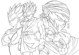 Disegni Da Colorare Dragon Ball Gt Goku Fredrotgans