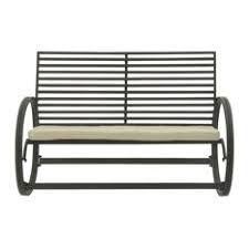 modern outdoor rocking chair. Brimfield \u0026 May - Winslow Outdoor Rocking Bench Chairs Modern Chair