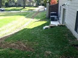 drain tile yard drainage tile around house installing backyard drainage medium size of yard drainage installing